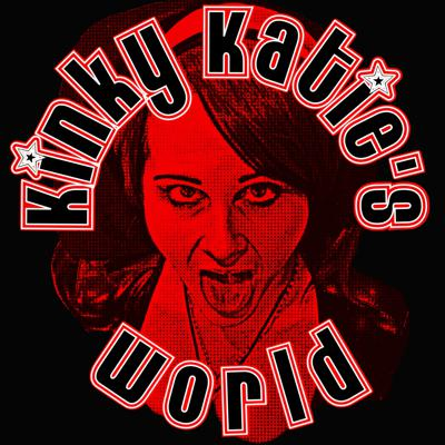"""Juvenile adult vulgarity at it's finest! Sex, kink, fetish, BDSM and porn by lifestylers. Hosted by Kinky Katie, lifestyle fetishist, feature and adult film actress / producer. Joined by her favorite flesh coated F-Toy Stunt Cock. Listen along as Kinky Katie dispenses completely irresponsible advice, along with several things you'll wish you could un-hear. Lite on the """"how to"""", with stories and subjects that are happening now in the world of sex, kink, and fetish. Always a fast paced fresh outlook on all things sexual."""