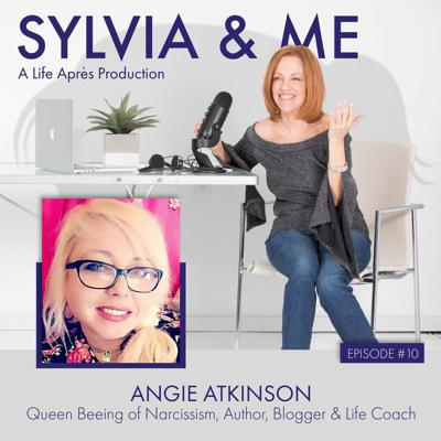 Cover art for Angie Atkinson, Queen Beeing of Narcissism, Author, Life Coach and Blogger