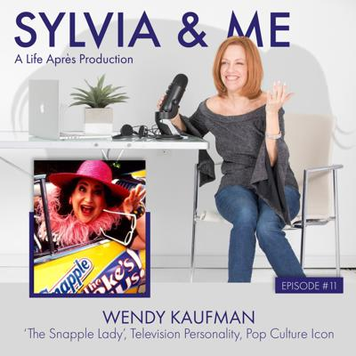 Cover art for Wendy Kaufman, 'The Snapple Lady', Television Personality, Pop Culture Icon and Recovering Addict