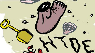 Cover art for Human Feet and Graham Crackers