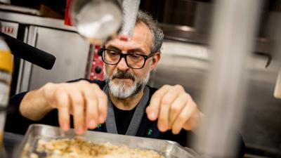 Cover art for Chef Massimo Bottura On Challenging Tradition And Combating Hunger