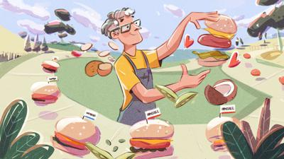 Cover art for Impossible Foods: Pat Brown