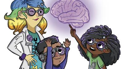 Cover art for Kids' Books Where Science Is The Adventure