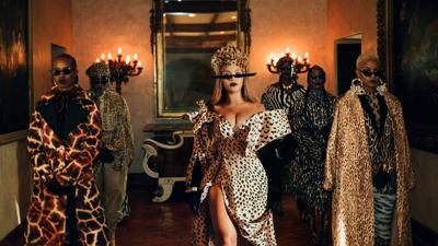 Cover art for Beyonce's Black Is King