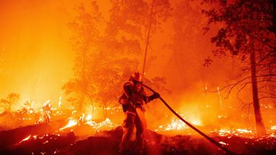 Cover art for What's Driving California's Biggest-Ever Wildfire Season