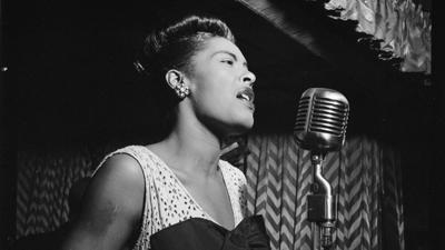 Cover art for The United States vs. Billie Holiday