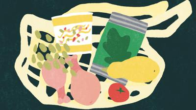 Cover art for Eating Healthy Without Overspending