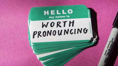 Cover art for The Importance Of Pronouncing Names Correctly