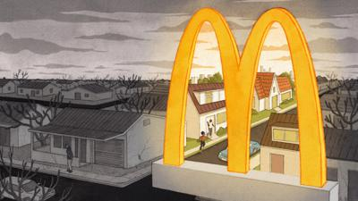 Cover art for Do The Golden Arches Bend Toward Justice?