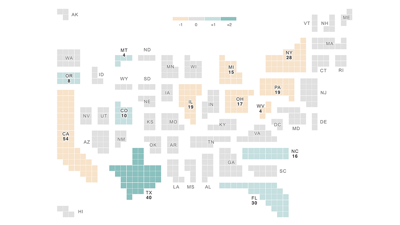 Cover art for New Census Numbers Mean A Political Power Shift For Some States