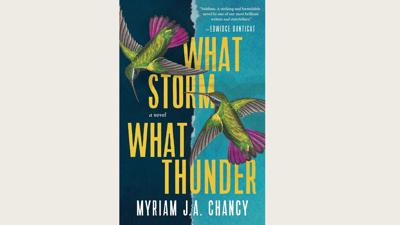 Cover art for Myriam J.A. Chancy's historical novel about a Haitian earthquake hits on human truths