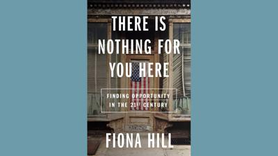 Cover art for Fiona Hill's new Trump-era memoir is less about Trump than it is about us