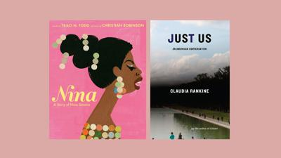 Cover art for In song and poetry, 'Nina' and 'Just Us' offer ways to start a conversation on race