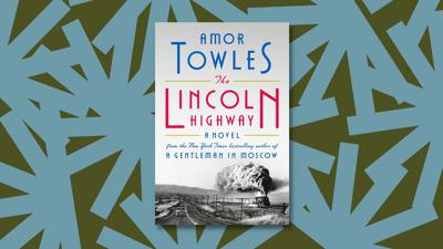 Cover art for Amor Towles' new book is about a road trip that takes more than a few U-turns