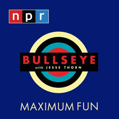 Bullseye from NPR is your curated guide to culture. Jesse Thorn hosts in-depth interviews with brilliant creators, culture picks from our favorite critics and irreverent original comedy. Bullseye has been featured in Time, The New York Times, GQ and McSweeney's, which called it