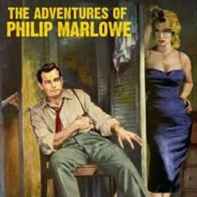 Cover art for The Adventures of Philip Marlowe - Friend from Detroit