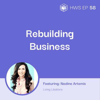Cover art for How to Build and Rebuild a Business After Tragedy with Nadine Artemis