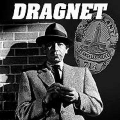Dragnet was an American radio, television and motion picture series, enacting the cases of a dedicated Los Angeles police detective, Sergeant Joe Friday, and his partners. The show takes its name from the police term