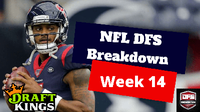 NFL DFS Main Slate Breakdown – Week 14