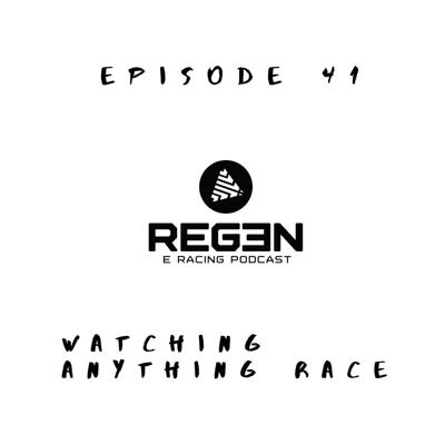 Cover art for Watching Anything Race