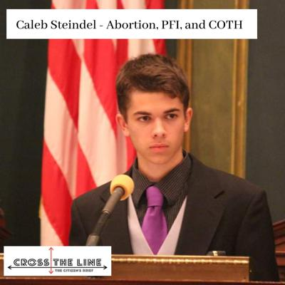 Cover art for Caleb Steindel - Abortion, PFI, COTH (S1:E9)