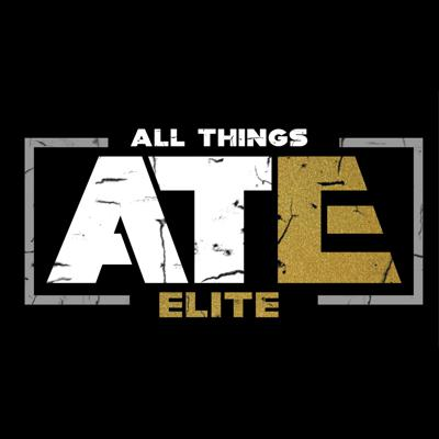 Cover art for All Things Elite Episode 61: Contest Update, Casino Ladder Match participants and rules, AEW Dark and Dynamite, Stadium Stampede, and the match card so far from Double or Nothing