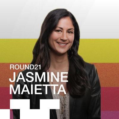 Cover art for Jasmine Maietta, CEO and Founder of round21