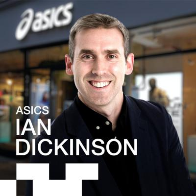 Cover art for Ian Dickinson, VP of Categories at ASICS