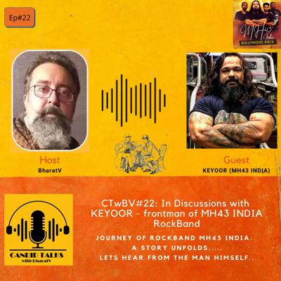 Cover art for CTwBV#22 In discussion with Keyoor the founder of Rockband MH43 INDIA