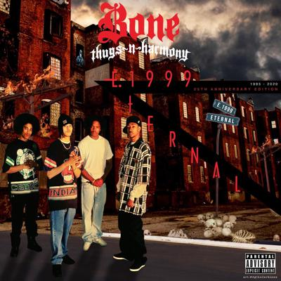 Cover art for Bone Thugs-N-Harmony-E. 1999 Eternal. A View of Rap At the Crossroads