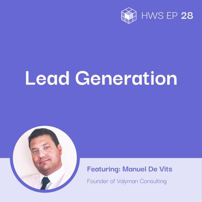 Cover art for Becoming an Expert at Cold Sales and Lead Generation With Manuel DE Vits