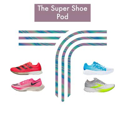 Cover art for The super shoe podcast