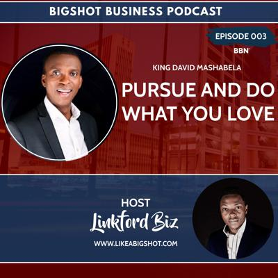 Cover art for 003. Pursue And Do What You Love with David Mashabela