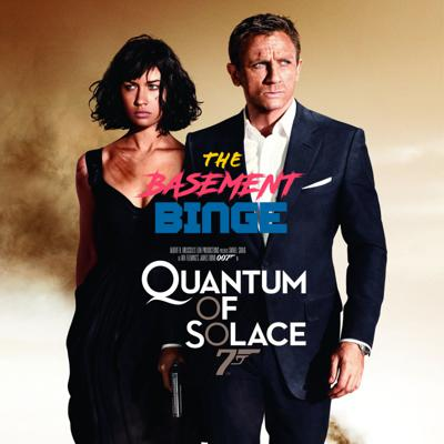 Cover art for Quantum of Solace | James Bond Week