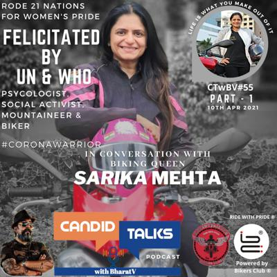 Cover art for CTwBV#55 In Conversation with Sarika Mehta. - Part1