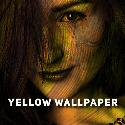 Cover art for The Yellow Wallpaper by Charlotte Perkins Gilman 1892