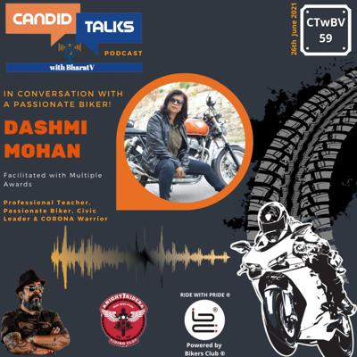 Cover art for CTwBV#59 In Conversation with Dashmi Mohan