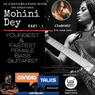 Cover art for CTwBV#57 In Conversation with Mohini Dey - Part1