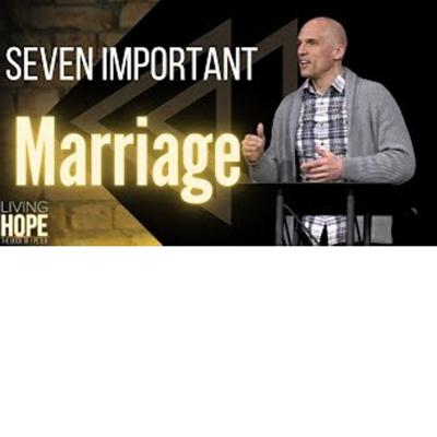 Cover art for Living Hope  - Seven Important Marriage Questions