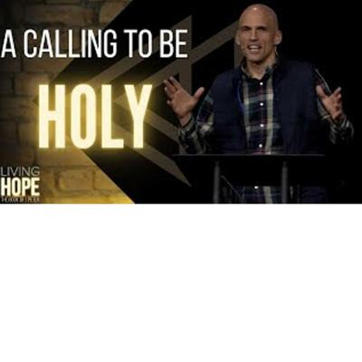 Cover art for Living Hope  - A Calling to Be Holy