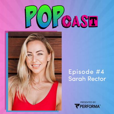 Cover art for PERFORMA POPcast #4 - Sarah Rector