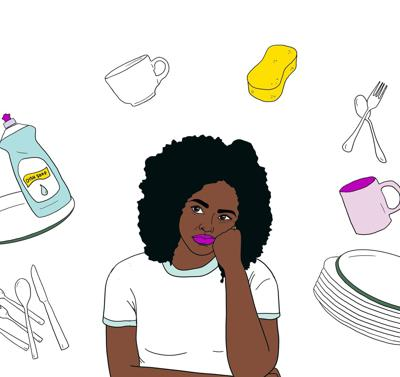 Cover art for Why Won't He Do the Dishes? The Politics of Housework