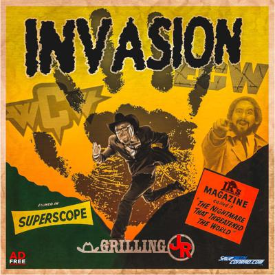 Cover art for Episode 117: WCW/ECW Invasion