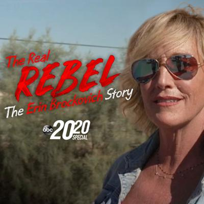 Cover art for The Real Rebel: The Erin Brockovich Story