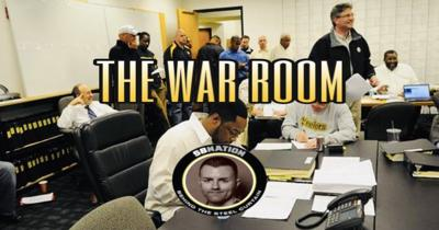 Cover art for The War Room: Reviewing & previewing the Steelers' rookies reporting for duty
