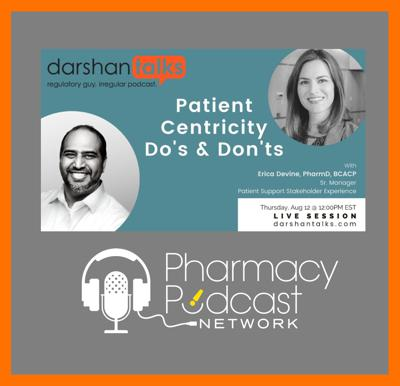 Cover art for Analyzing Dos and Don'ts of Patient Centricity   DarshanTalks