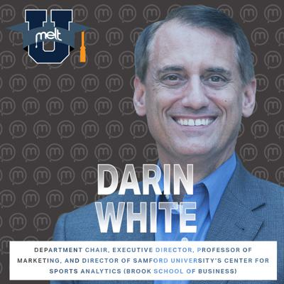 Cover art for Episode 90: Darin White Department Chair, Executive Director, Professor of Marketing, and Director of Samford University's Center for Sports Analytics