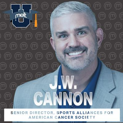 Cover art for Episode 91: J.W Cannon Senior Director, Sports Alliances for American Cancer Society