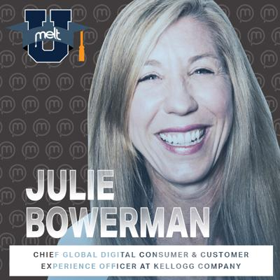 Cover art for Episode 95: Julie Bowerman Chief Global Digital Customer and Consumer Experience Officer at the Kellogg Company