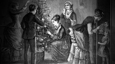 Cover art for The Victorian Christmas, Part 1